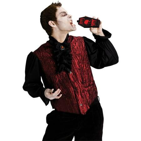 Drinking Dracula Men's Adult Halloween Costume