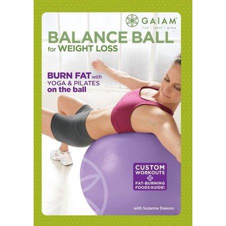 Balance Ball for Weight Loss (DVD) (Ball Exercise Dvd)