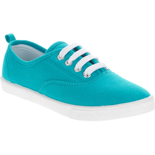 Faded Glory Girls' Lace-Up Canvas Casual Shoe by Faded Glory