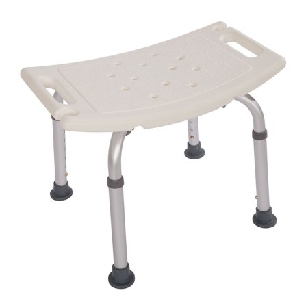 Zimtown Adjustable Height Medical Elderly Bath Tub Shower Chair Bench Stool Seat - Plastic Shower Stools