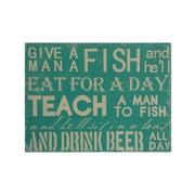 Cheungs 'Teach a Man to Fish' Textual Art