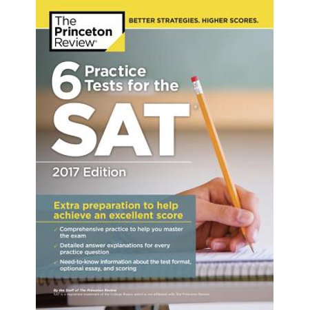 6 Practice Tests for the SAT