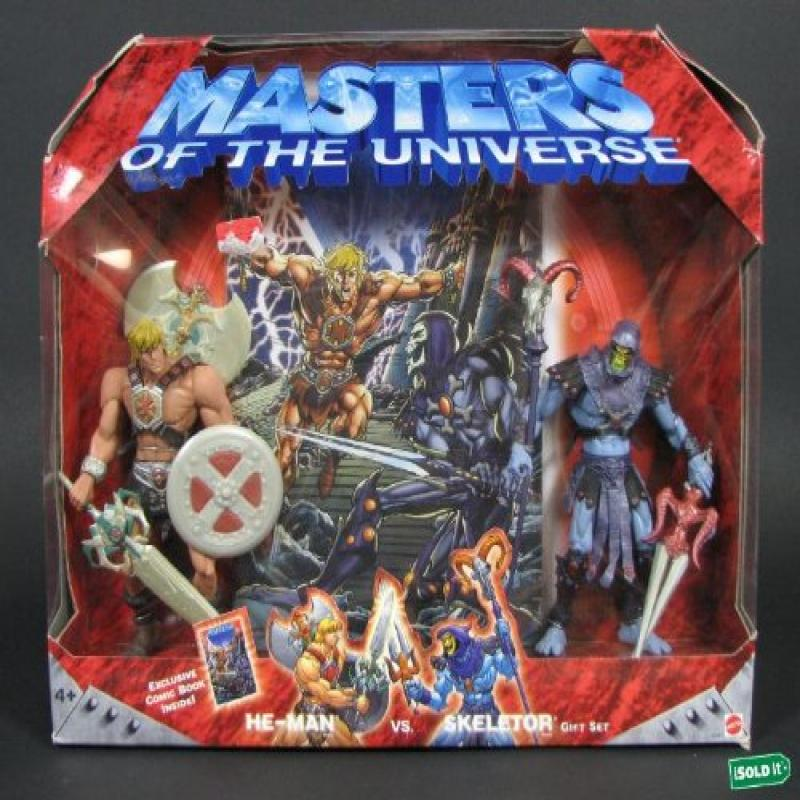 Masters of the Universe He-Man vs Skeletor Gift Set by Ma...