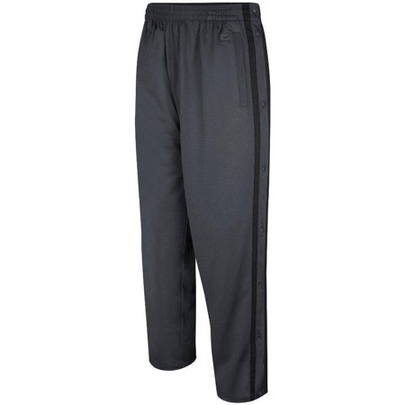Colosseum Basketball Shorts (mens tearaway athletic pants (charcoal/black))
