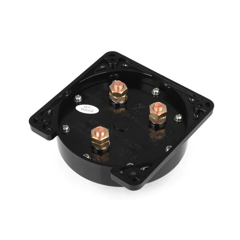 MARINE BOAT RV BATTERY SELECTOR SWITCH RATED 300A INTERMITTENT