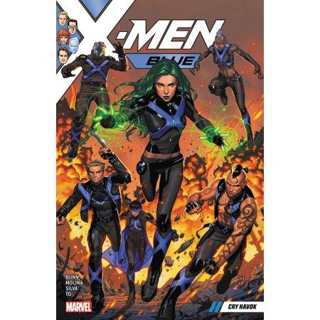 X-Men Blue Vol. 4: Cry Havok](Davey Havok Halloween)