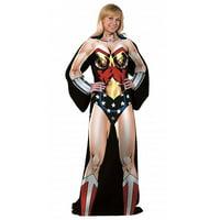 Marvel Comfy Throw- Wonder Woman
