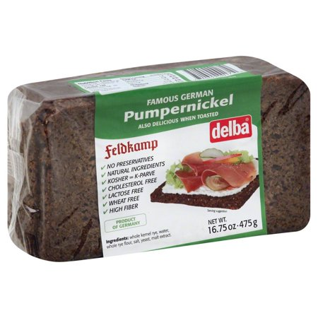 Feldkamp Pumpernickel Bread, 16 75 Oz