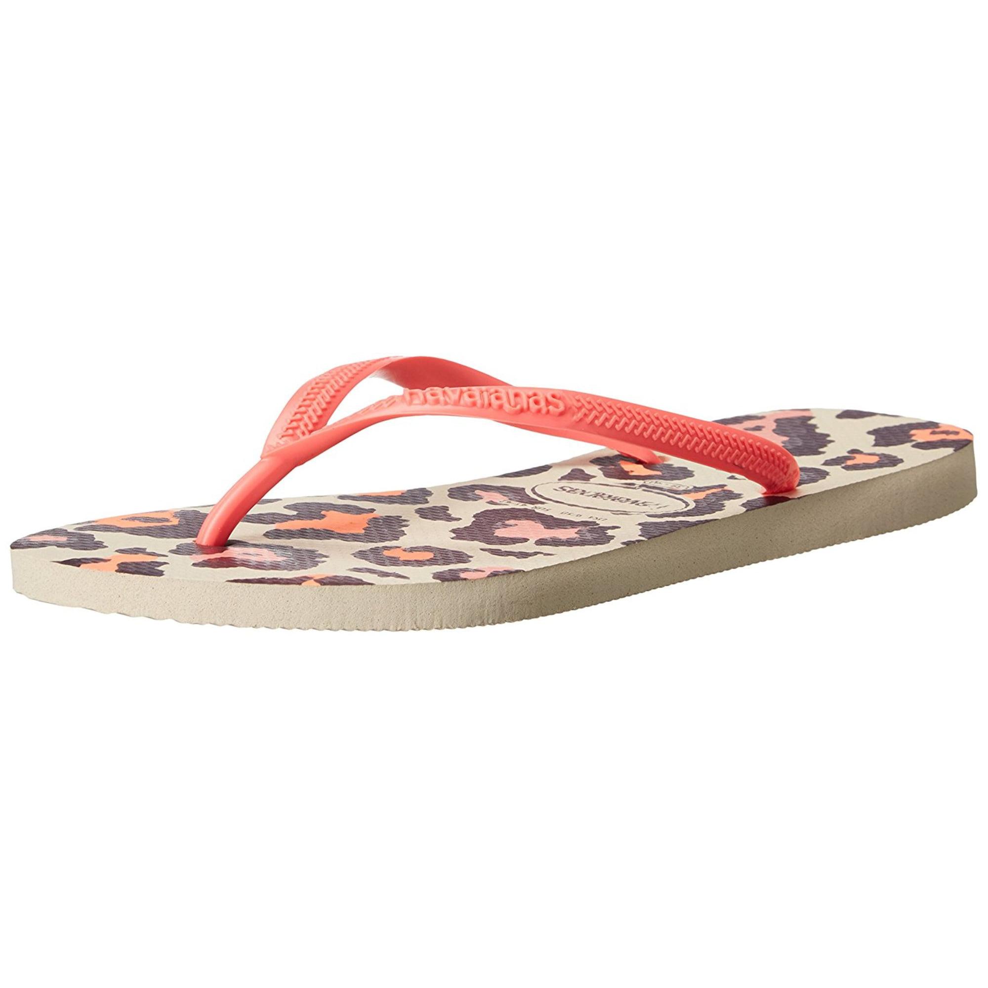 92f55b14f Havaianas Womens Slim Animals Round Toe Beach Slide