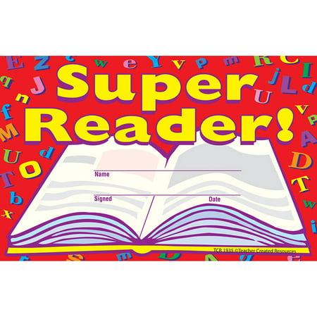 Name Of Super Bowl Trophy (SUPER READER AWARDS 25PK 8-1/2 X)