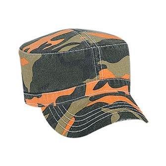 OTTO Camouflage Garment Washed Superior Cotton Twill Military Cap - Camo 006