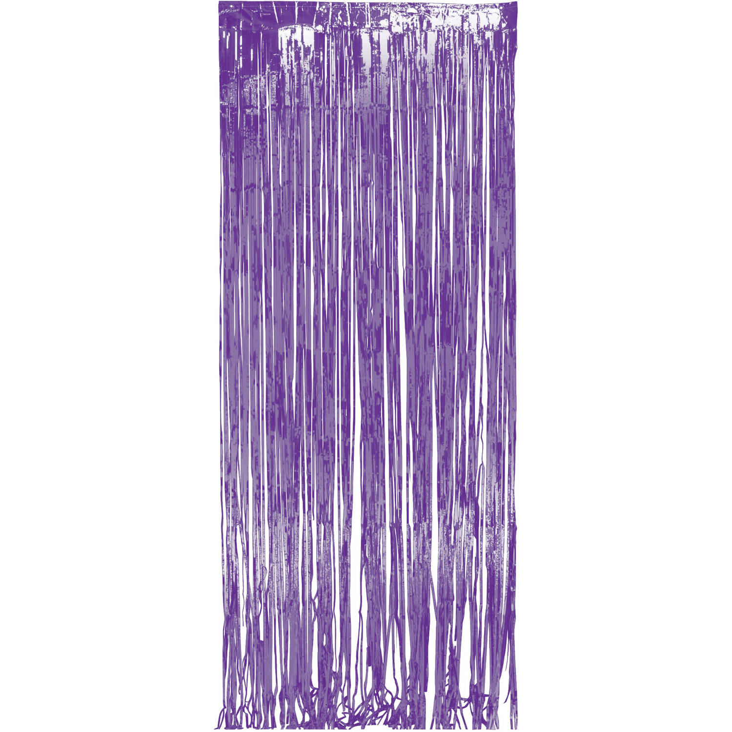 Purple Foil Door Fringe