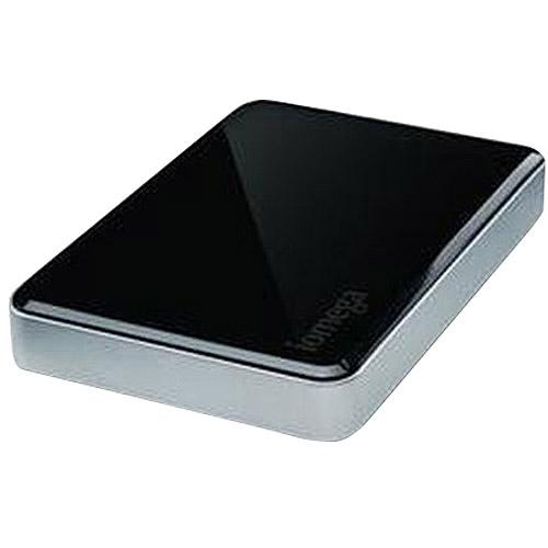 Iomega Corporation eGo 1TB USB 3.0 Portable Hard Drive, Jet Black