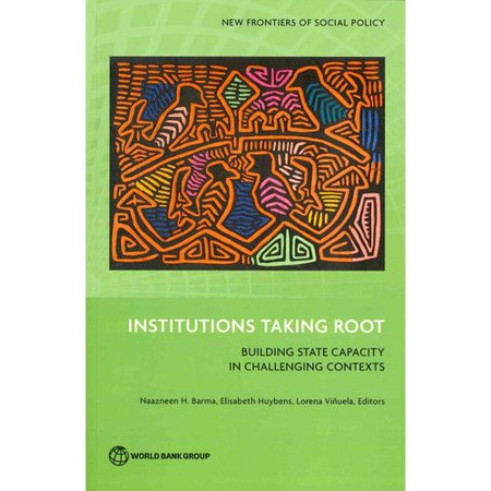 Institutions Taking Root  Building State Capacity In Challenging Contexts  New Frontiers Of Social Policy