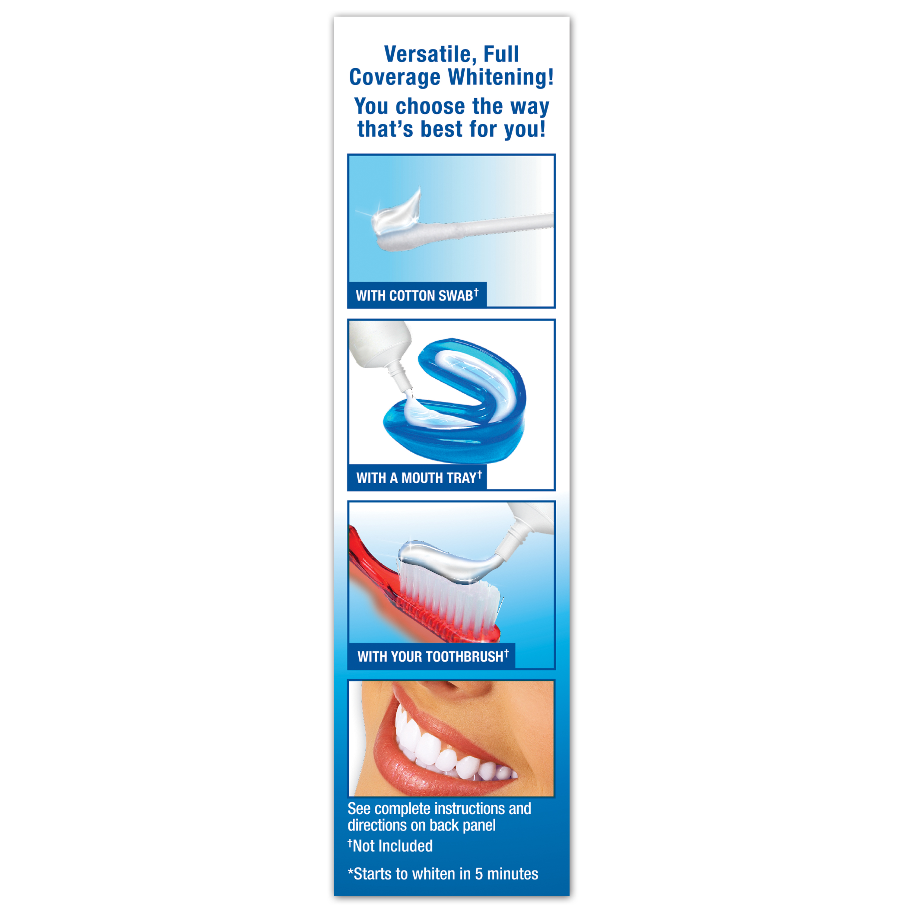 Plus White 5 Minute Premier Speed Teeth Whitening Gel, 2 oz