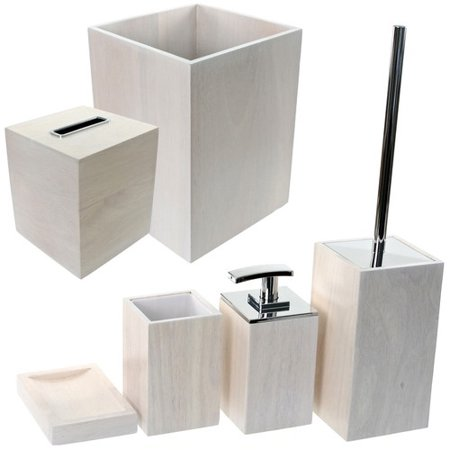 Gedy by nameeks papiro 6 piece bathroom accessory set for C bhogilal bathroom accessories