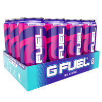 (12 Cans) G Fuel FaZeberry, Sugar Free Energy Drink, 16 fl oz