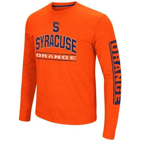 Syracuse Orange Ncaa   Sky Box   Long Sleeve Dual Blend Mens T Shirt
