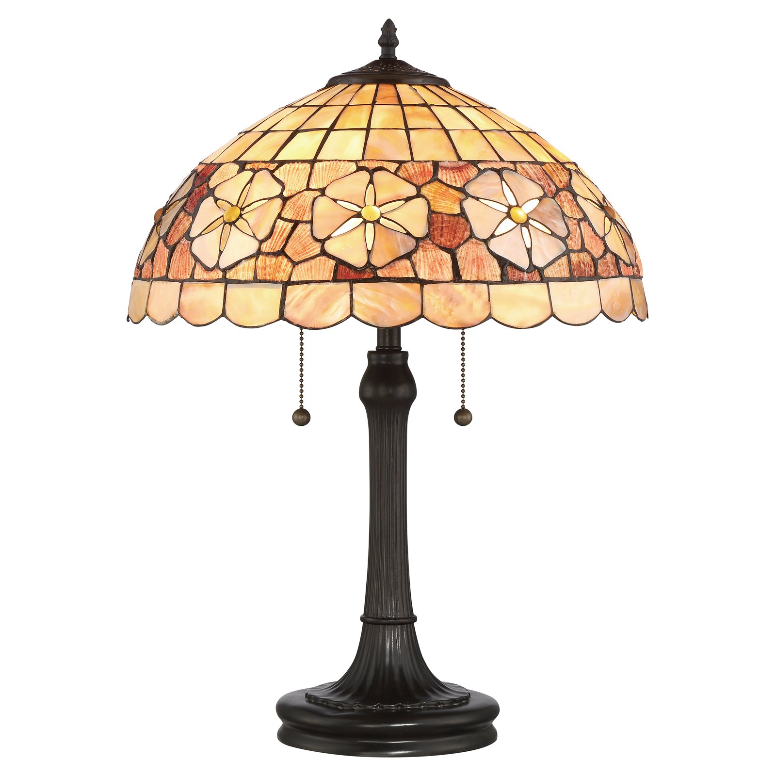 Quoizel Sea Shell Collection Sanibel Desk Lamp