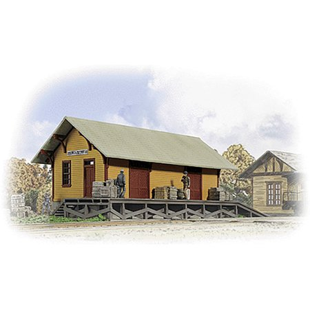Walthers Cornerstone HO Scale Building/Structure Kit Golden Valley Freight House
