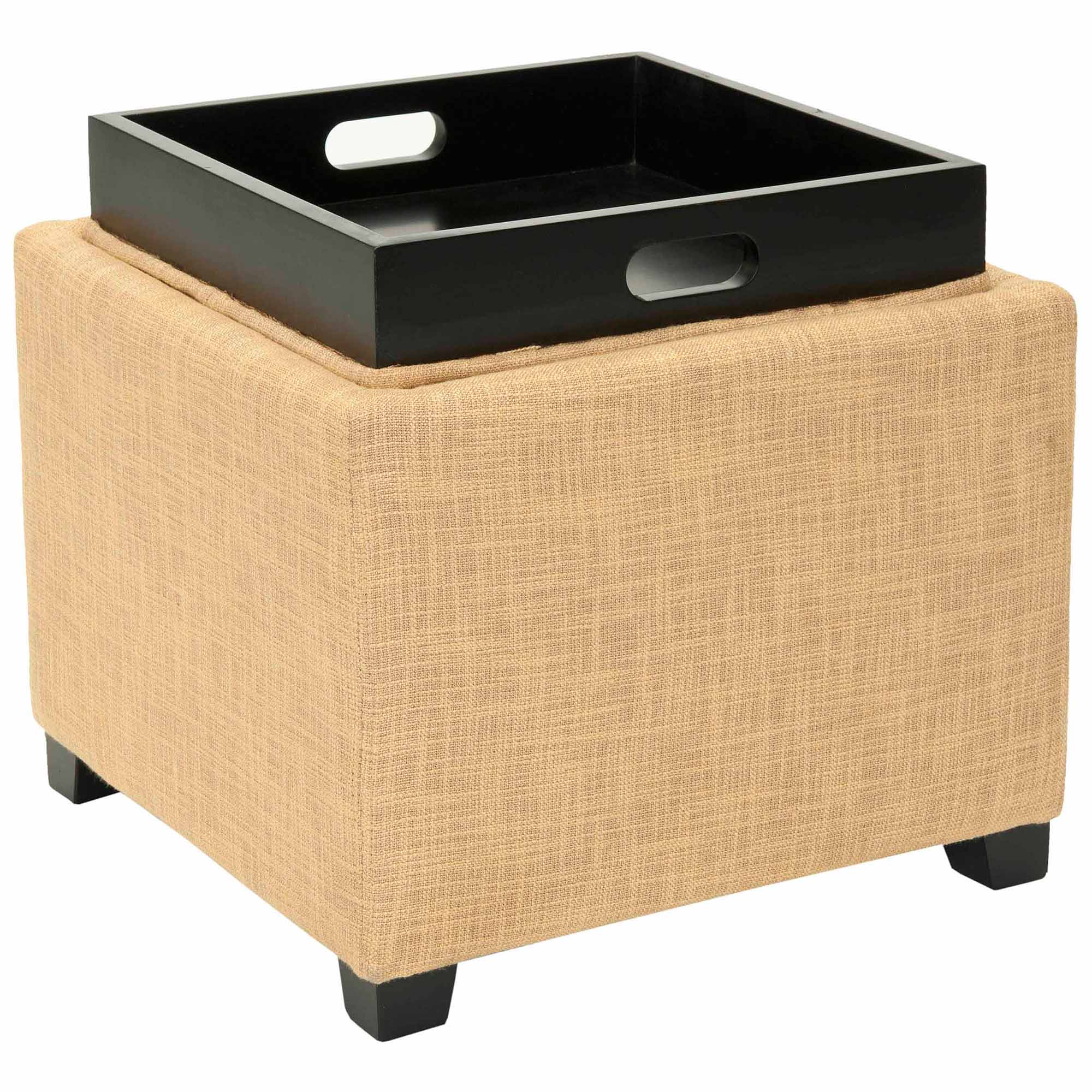Safavieh Harrison Single Tray Ottoman, Multiple Colors