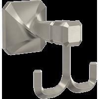 Napier Multipurpose Hook in Satin Nickel