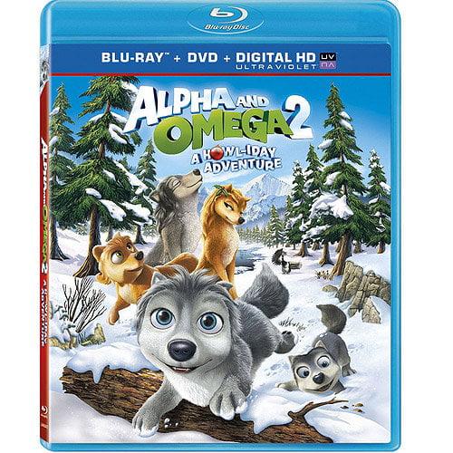 Alpha & Omega 2: A Howliday Adventure (Blu-ray + DVD + Digital HD) (Walmart Exclusive) (With INSTAWATCH) (Widescreen)