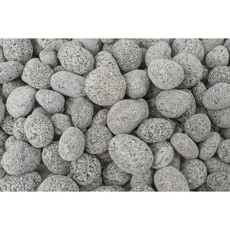 - 20 lb Black Lava Pebble, 1