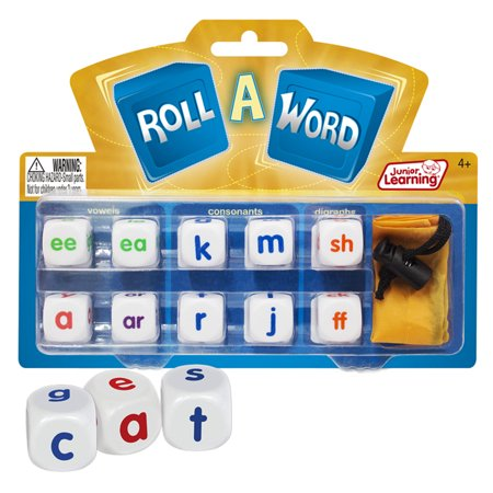 Spelling Learning Game (Junior Learning Roll a Word Game, Develop Spelling and Word Formation! )