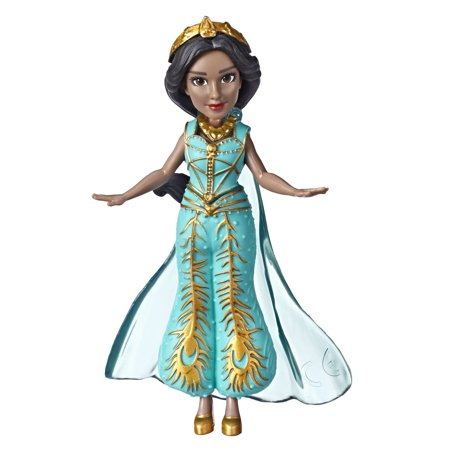 Princess Collectible Doll - Disney Collectible Princess Jasmine Small Doll in Teal Dress