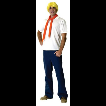 Fred Adult Halloween Costume - One Size - Fred Halloween Costume