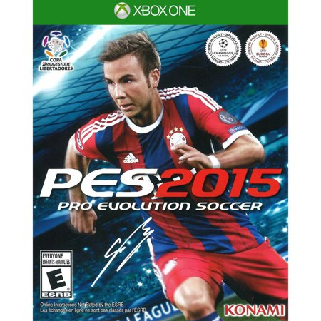 Pro Evolution Soccer 2015 - Microsoft Xbox One Video Game - New Sealed Disc