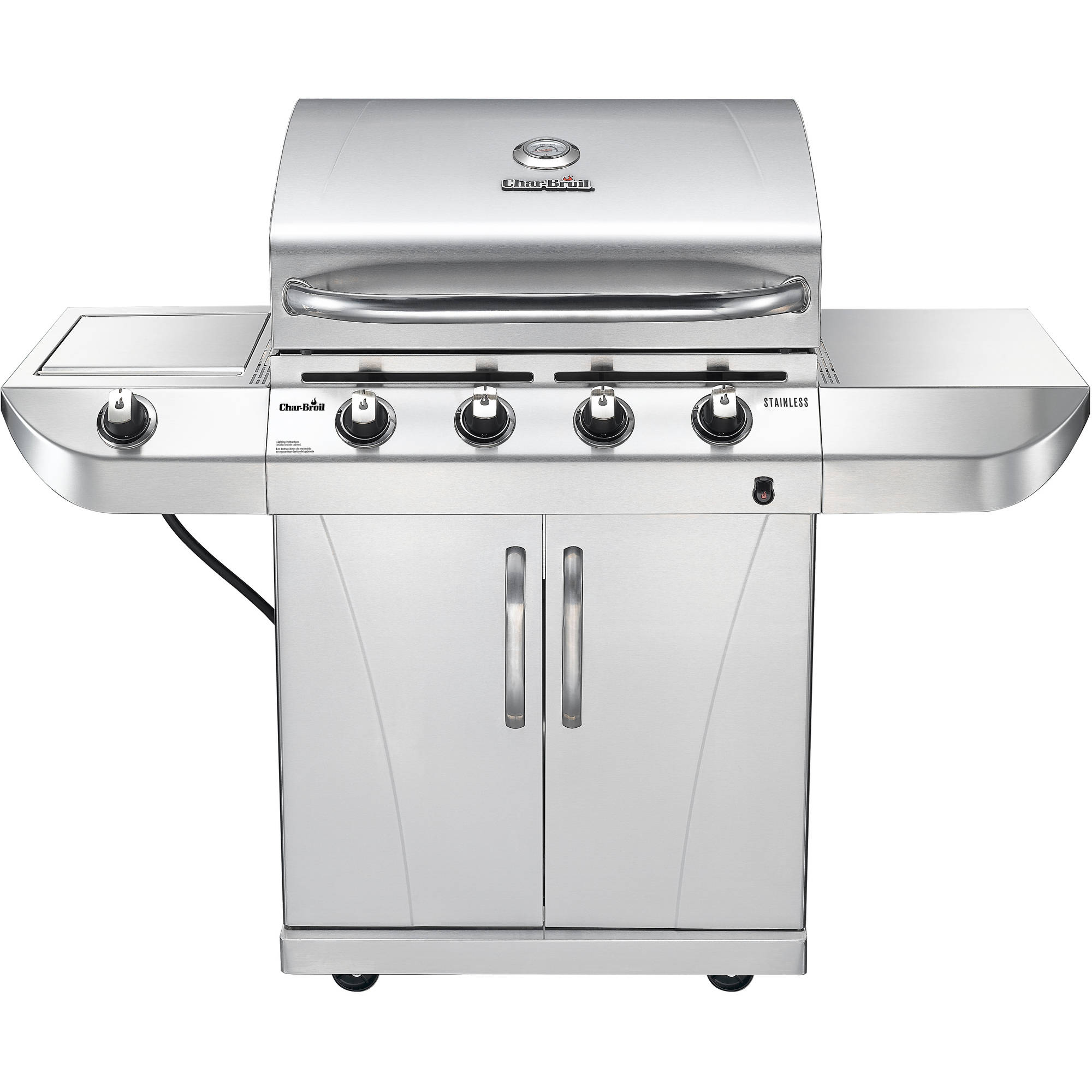 CHAR-BROIL 4-BURNER STAINLESS