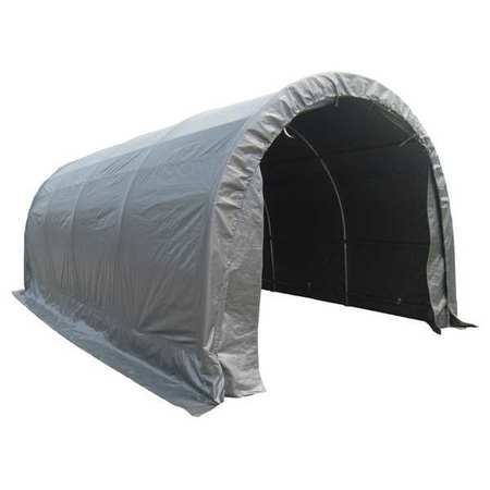 VALUE BRAND 11C546 Dome Top Temp Garage, 20 Ft. X 10 Ft.