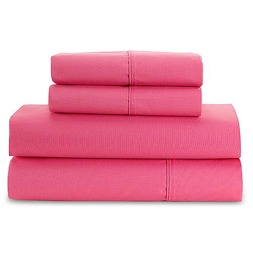 Hometrends - True Colors Sheet Set, Hot Pink