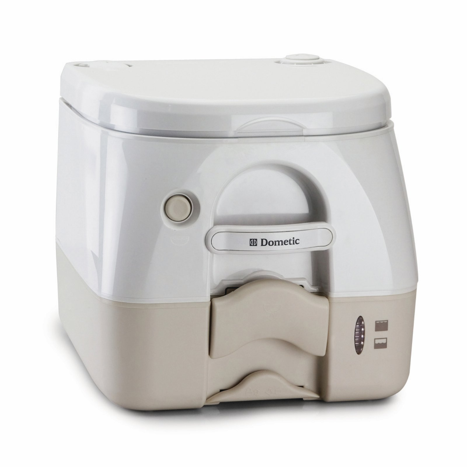 Dometic 301097202 Portable Toilet 2.6 Gallon, Tan