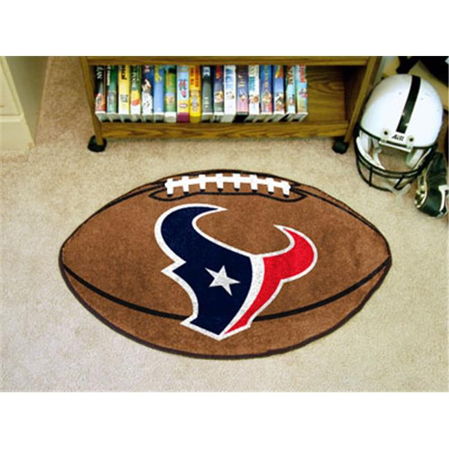 Houston Texans Football Rug 22 in. x 35 in.