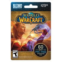 Blizzard Warcraft 60 Day Time Card $29.99 [Digital Download]