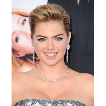 Kate Upton At Arrivals For The Other Woman Premiere The Regency Village Theatre Los Angeles Ca April 21 2014 Photo By Dee Cerconeeverett Collection Photo Print