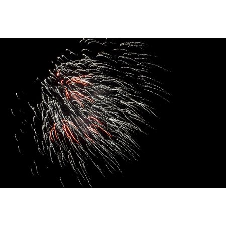 Minnesota, Mendota Heights, Fireworks, Aerial Displays Print Wall Art By Bernard