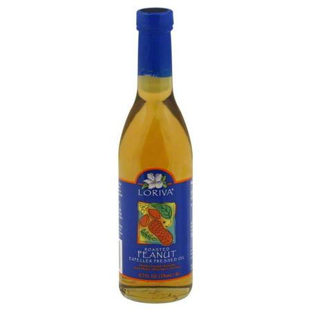 Loriva Roasted Peanut Oil, 12.7 fl oz