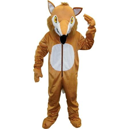 Fox Mascot Adult Halloween Costume (Halloween Mascot Costume)