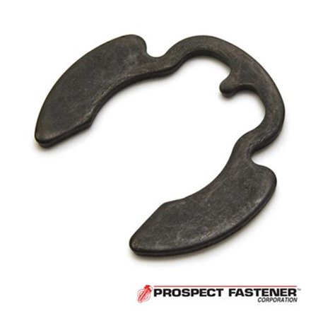 External Ring - PO-175ST PA 1.75 in. Dia. Poodle Style External Ring, Carbon Stainless Steel Black Phosphate - 5 Pieces