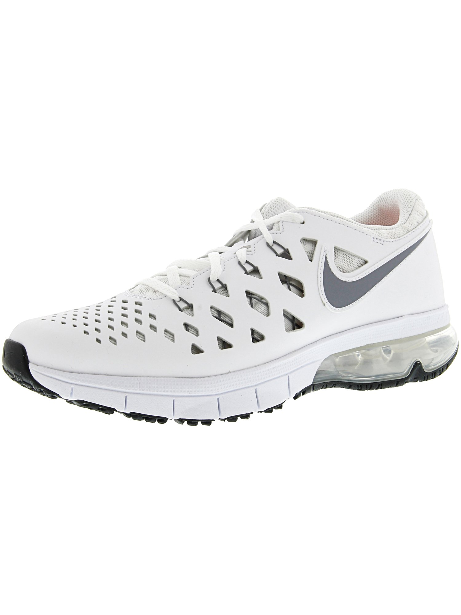 9db766848cad63 Nike Men s Air Trainer 180 White   Cool Grey - Black Ankle-High Training  Shoes 11M