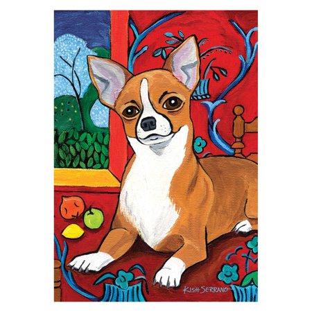Chihuahua Garden Flag - Toland Home Garden Muttisse - Chihuahua Flag