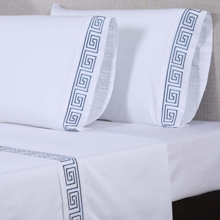 Image of 600 Thread Count Embroidered Sheet Set by Affluence