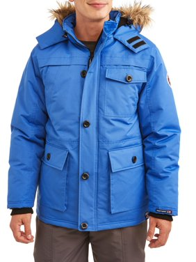 1c593b13938 Product Image Men s Heavy Water Resistant Parka With Faux Fur Trimmed Hood