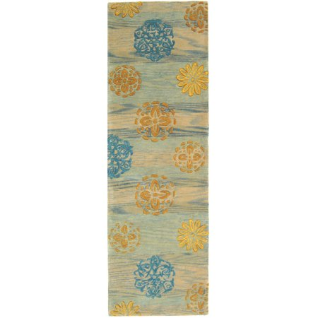 Safavieh Rodeo Drive Elisa Hand-Tufted Wool Runner Rug, Blue/Multi