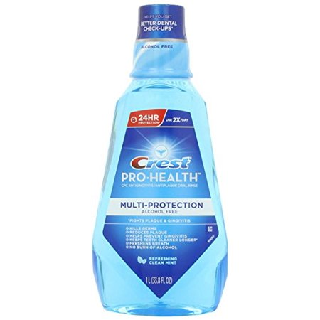 - Crest Pro-Health Oral Rinse Refreshing Clean Mint 33.8 Oz 1000 mL Each