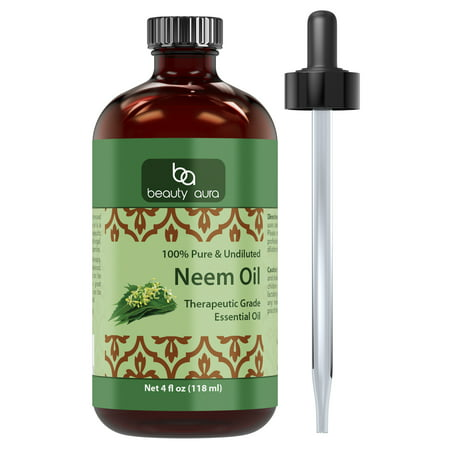 Beauty Aura Neem Oil 4 Oz - Neemaura Neem Seed Oil